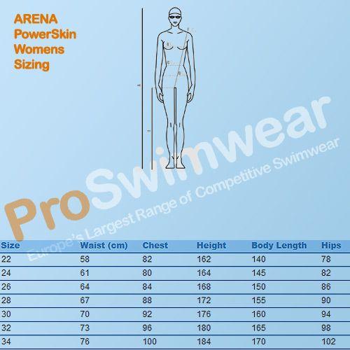 adidas swimwear size guide