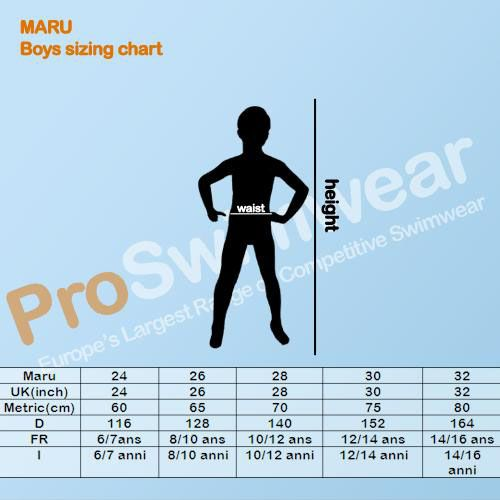 Maru Boy's Size Guide