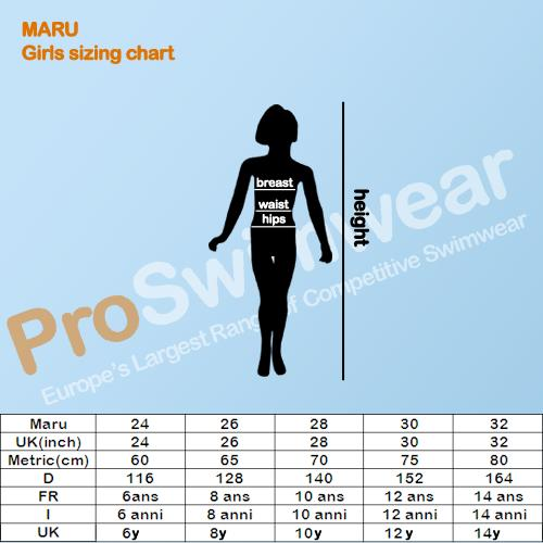 Maru Girl's Size Guide