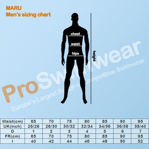 Maru Men's Size Guide