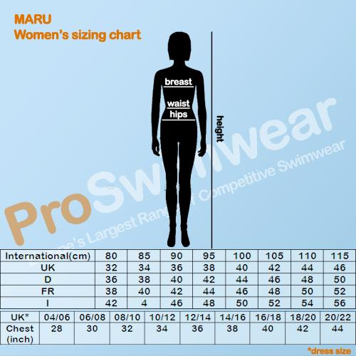 Maru Women's Size Guide