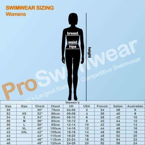FunAqua Women's Size Guide