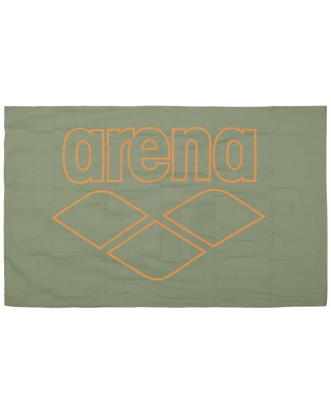 Arena Pool Towel Smart - Army / Tangerine