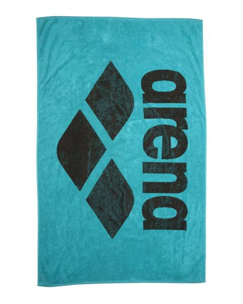 Arena Pool Towel Soft - Mint / Espresso