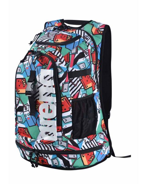 Arena Fastpack 2.2 40L All Over Printed Milkshake Rugzak