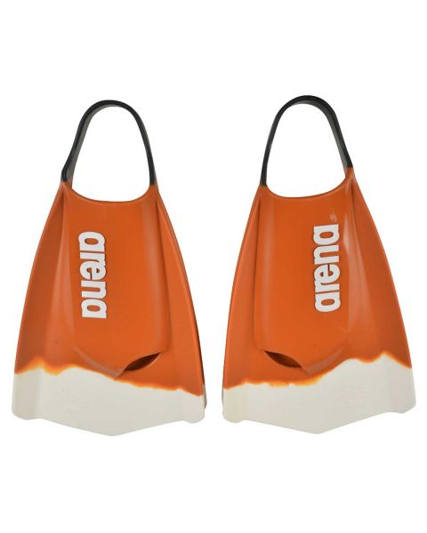 Arena Limited Edition Powerfin Pro Palmes De Natation - Orange
