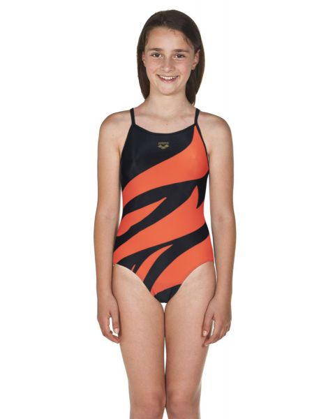 Arena Limited Edition Gregorio Paltrinieri Girls Accelerate Back One Piece Swimsuit