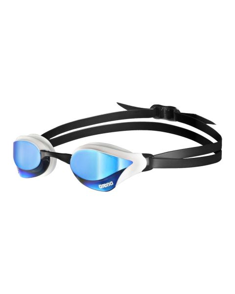 Arena Cobra Core Swipe Mirrored Goggles - Blue / White