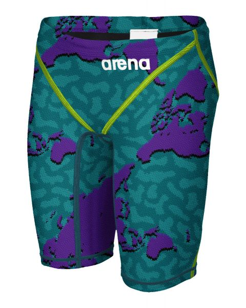 Arena Homens Limited Edition Powerskin ST2.0 Bermuda - Roxo Map