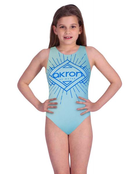 Akron Girl's Zola Swimsuit - Green