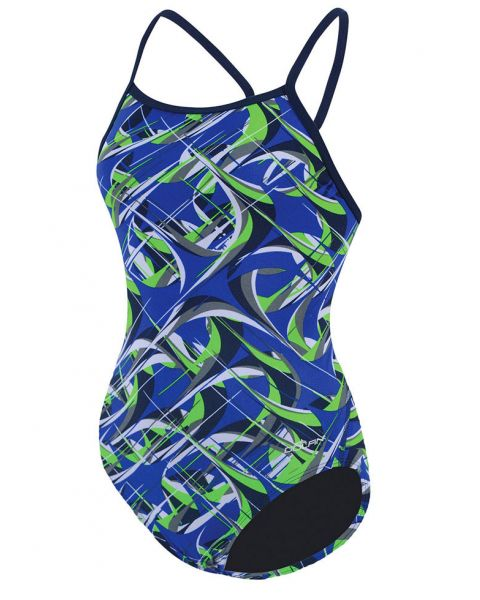 Dolfin Reliance Girls Predator - Blue/Green