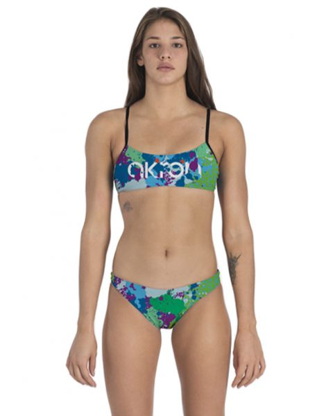 Akron Women's Drop 2 Bikini - Multi