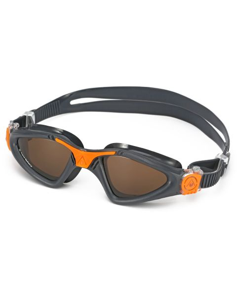 Aqua Sphere Kayenne Goggles- Grey / Orange
