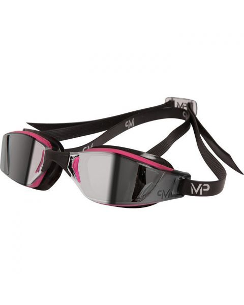 MP Michael Phelps XCEED Ladies Mirror Goggles Pink/Black