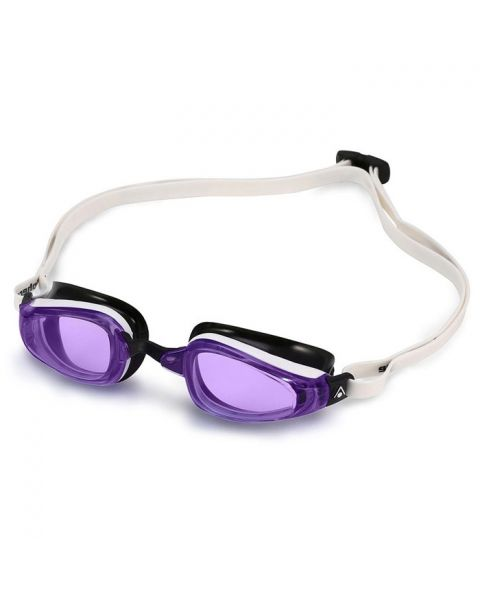 MP Michael Phelps K180 Ladies Goggles - White / Violet