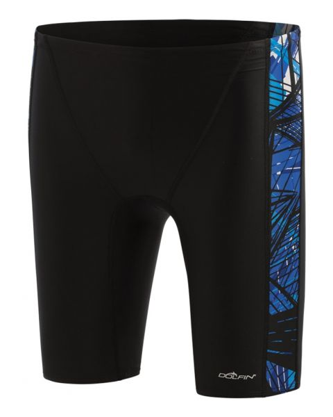 Dolfin Mens XtraSleek Eco Torrent Spliced Jammer - Black/Blue