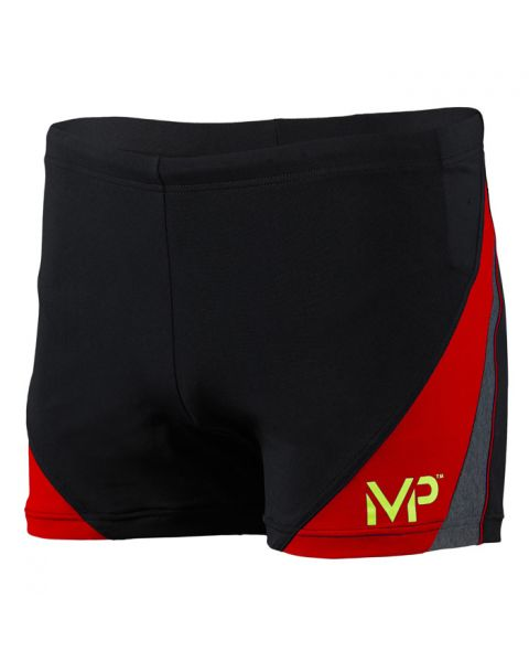 MP Michael Phelps Boy's Arkos Boxer - Black / Red