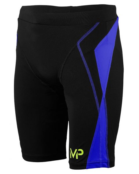 MP Michael Phelps Mens Leyo Jammers - Black / Blue
