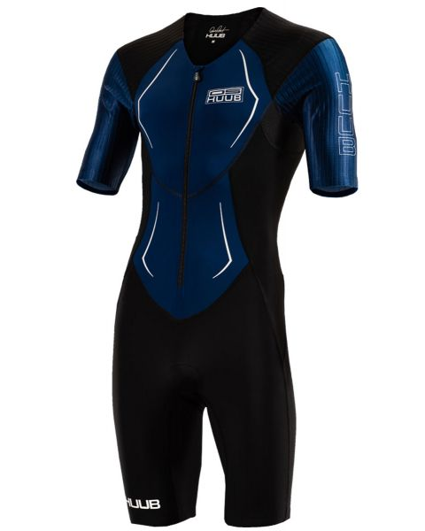 HUUB Men's Dave Scott Tri Suit - Black / Navy