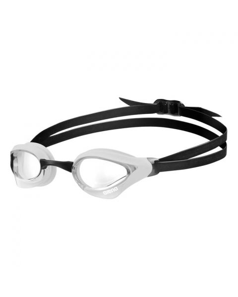 Arena Cobra Core Goggles - Clear / White / Black