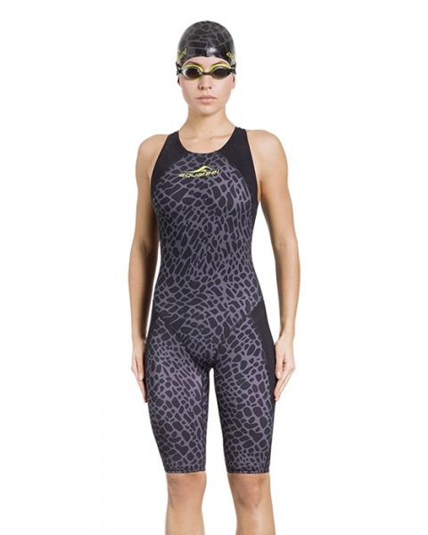 Aquafeel Women's Limited EditionRacing i-NOV Kneesuit - Black