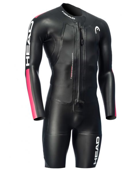 Head Swimrun Suit Mens - Black/Red