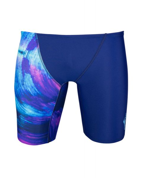 Aquafeel Herren Water Waves Schwimmhosen - Blau