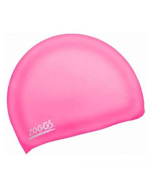 Zoggs Easy Fit Silicone Caps Pink