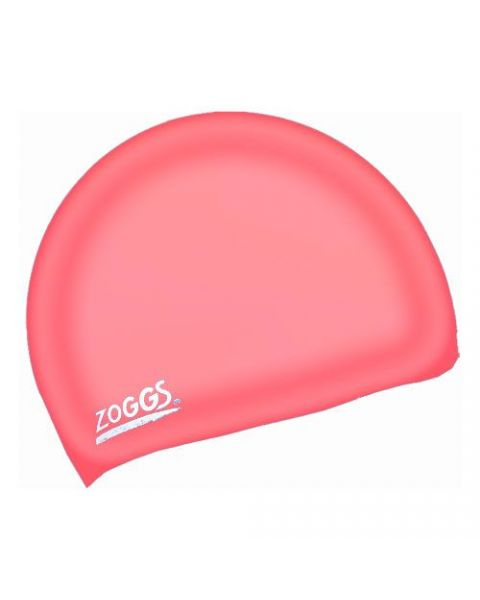 Zoggs Junior Bonnet De Natation En Silicone - Rouge