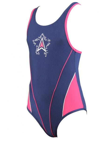 Diana Girls Avril Swimsuit Navy