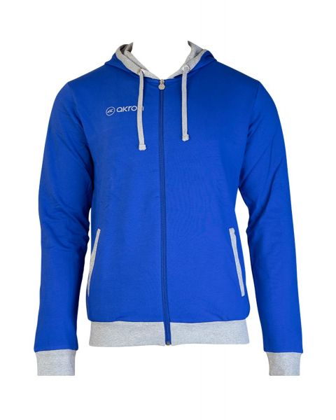 Akron Junior Tampa Tracksuit Top - Royal Blue / Grey