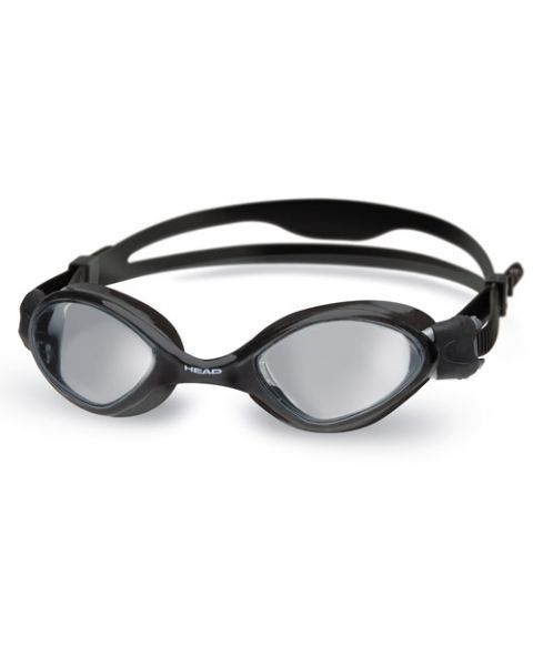 Head Tiger Mid Black Goggles - Smoke Lens