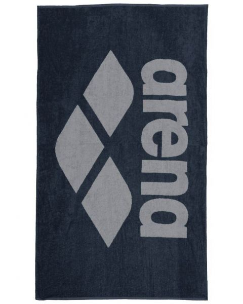 Arena Pool Towel Soft - Navy / Green