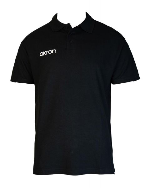 Akron Break Polo Shirt - Black