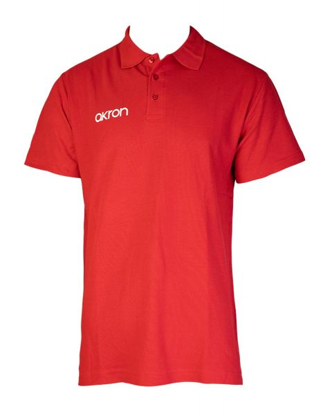 Akron Break Polo Shirt - Red