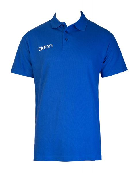 Akron Break Polo Shirt - Royalblå