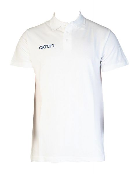 Akron Break Polo Shirt - White
