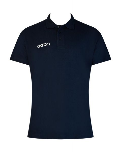 Akron Break Polo Shirt - Navy Blue