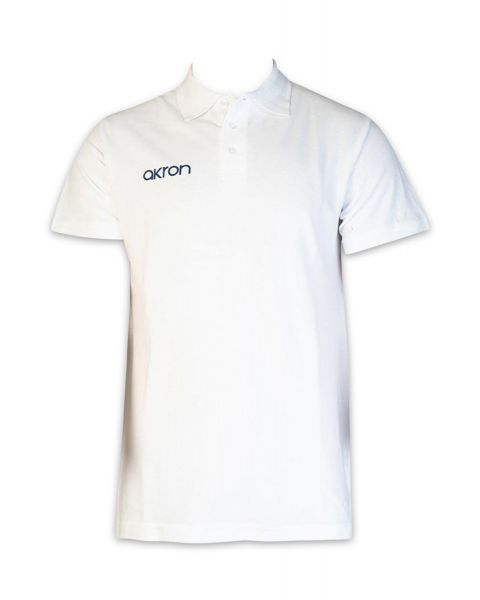 Akron Break Polo Shirt - Blanc