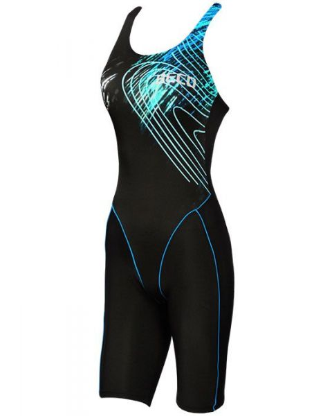 Beco Aurora Kneesuit Black/Blue