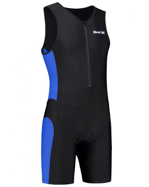 Dare2Tri Men's Tri-Suit - Black / Blue