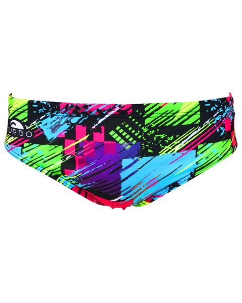 Turbo Mens Square Flu Supertank Swimming Brief