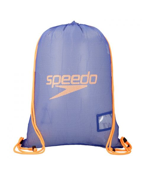 Speedo Equipment Mesh Bag - Marine Blue / Orange