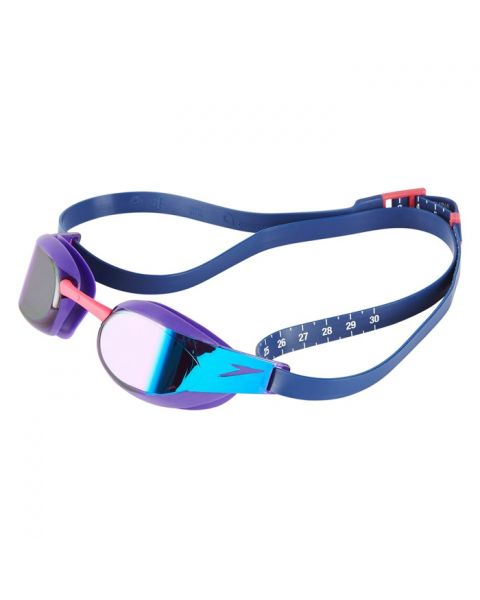 Speedo Fastskin Elite Mirrored Goggles - Violet / Blue