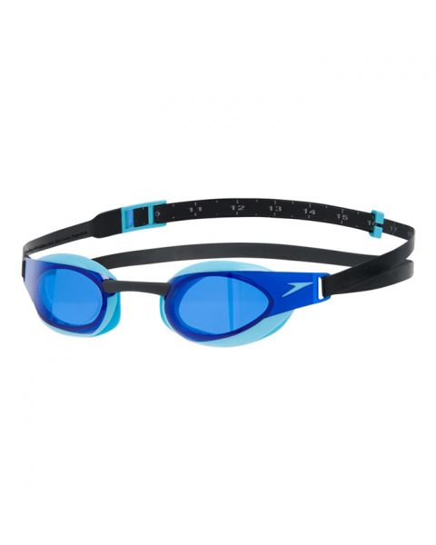 Speedo Fastskin Elite Goggles - Black / Aqua Splash / Blue