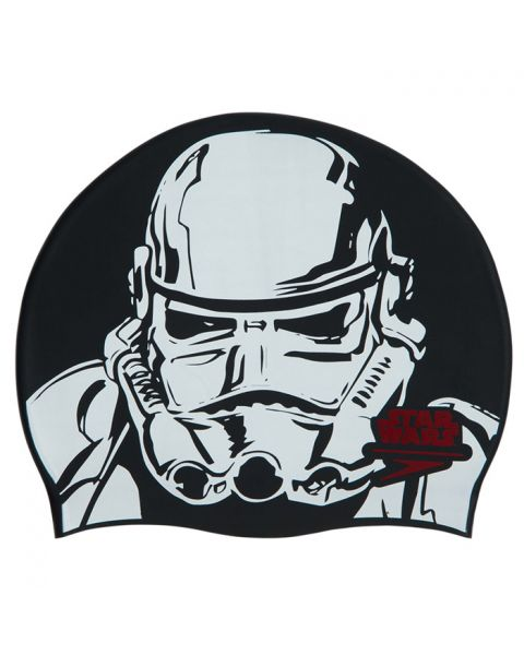 Speedo Star Wars Slogan Estampado Gorro de Natación - Storm Trooper