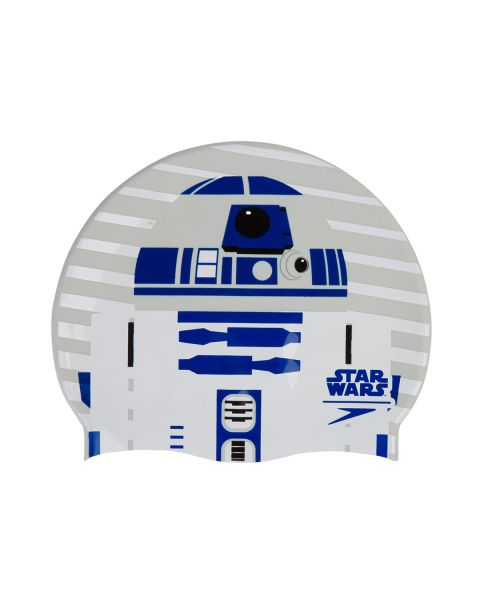 Speedo Star Wars Bonnet De Natation R2D2- Violet/ Blanc
