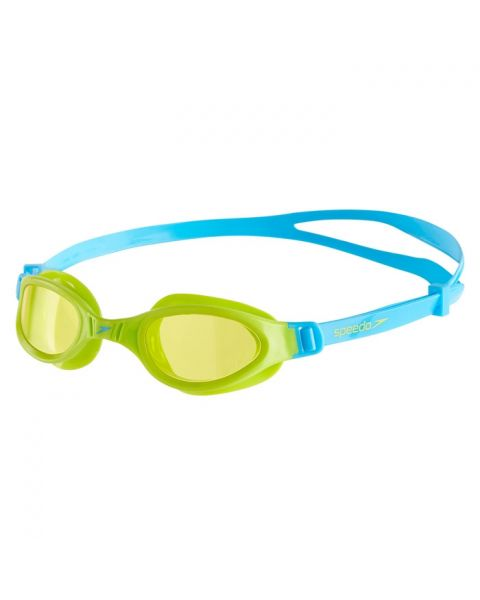 Speedo Futura Plus Junior Goggles - Peppermint / Lime