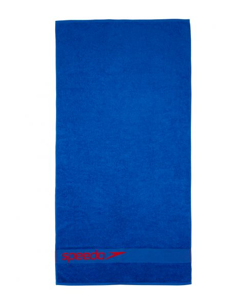 Speedo Border Towel - Neon Blue