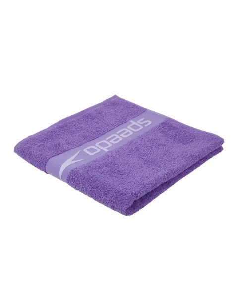 Speedo Border Towel - Ultra Violet / Hard Candy
